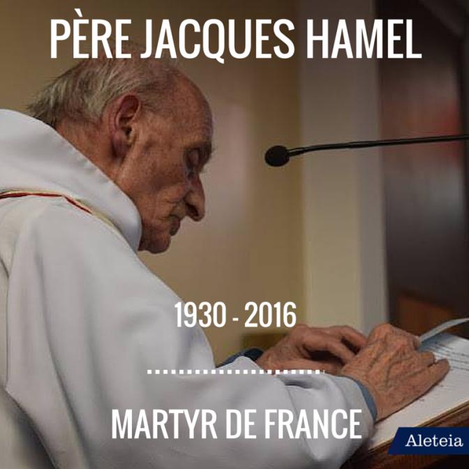 Μάρτυρας, για το Βατικανό, ο γάλλος ιερέας που σφαγιάστηκε στη Ρουέν