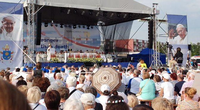 Παγκόσμια Ημέρα Νεολαίας στην Κρακοβία 2016 – Ημέρα 4