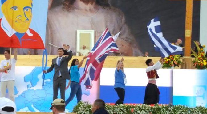 Ανταπόκριση της Ελληνικής αποστολής για τη 2η εβδομάδα της 31ης Παγκόσμιας Ημέρας Νεολαίας