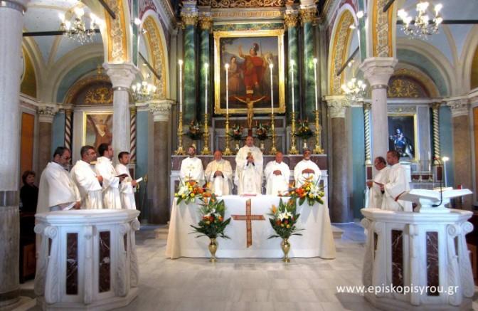 Πανηγυρικός Εορτασμός Παναγίας της Ελπίδας στον Καθεδρικό Ι.Ν. του Αγίου Γεωργίου στην Άνω Σύρο