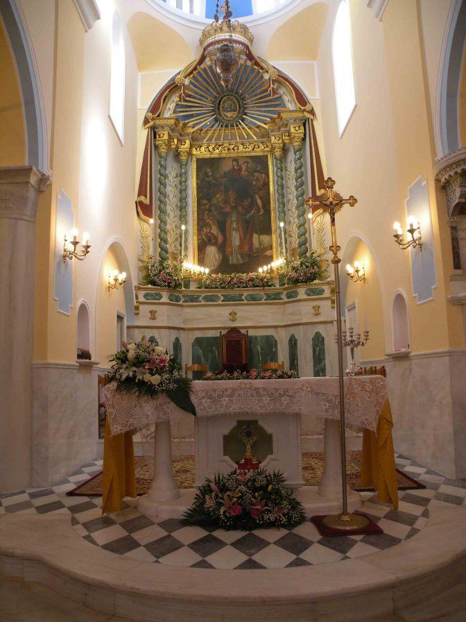 Πανηγύρισε ο Ναός Αγίου Νικολάου στη Χώρα Τήνου