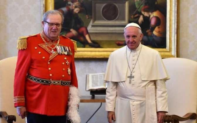 Ενταση στο Βατικανό με το Τάγμα Ιπποτών της Μάλτας