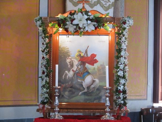 Με λαμπρότητα η Πανήγυρη του Αγίου Γεωργίου στην Άνω Σύρο