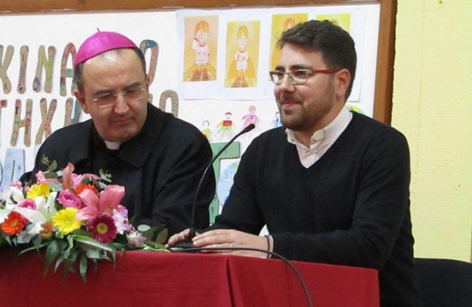 Συνάντηση ενοριακών συμβουλίων και θεσμών της Καθολικής Επισκοπής Σύρου