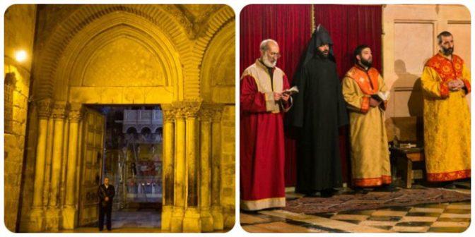 Δύο οικογένειες μουσουλμάνων είναι εδώ και αιώνες οι φύλακες και κλειδοκράτορες του Ναού του Παναγίου Τάφου…