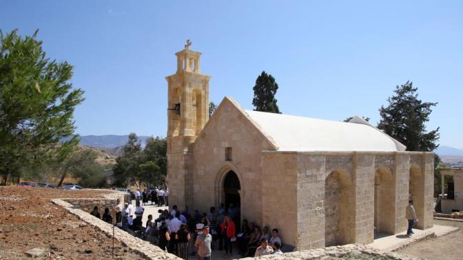 Χτύπησε ξανά η καμπάνα της κατεχόμενης Αγίας Μαρίνας (βίντεο) Συγκινημένη η Μαρωνίτικη κοινότητα.