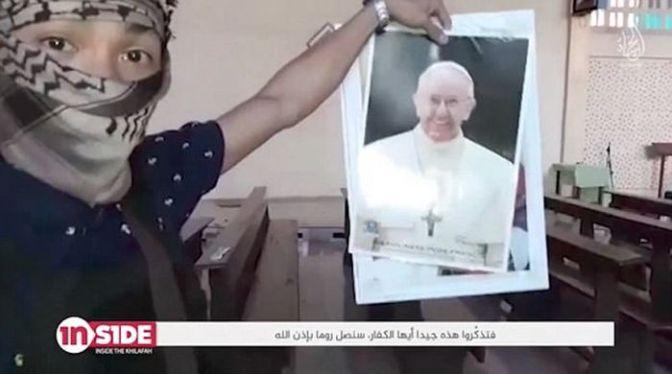 Οι τζιχαντιστές του ISIS απειλούν τον πάπα Φραγκίσκο και την Ιταλία – «Θα έρθουμε στην Ρώμη»