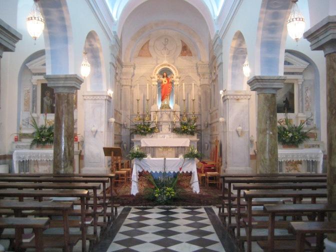 Προσκύνημα Εξωμβούργου και Ιησουίτες